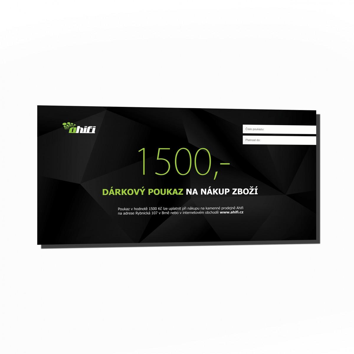 1500 Czk