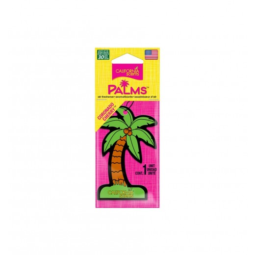 Vôňa v závesnej palmičke California Scents Hang Out Palms Coronado Cherry