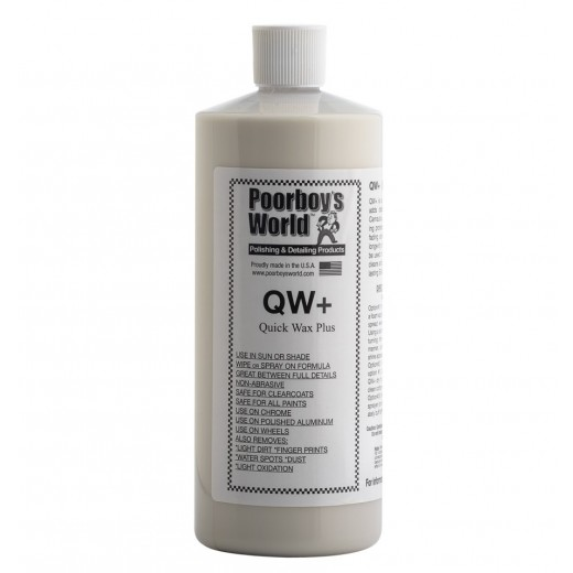 Prídavok vosku Poorboy 's QW + Quick Wax Plus (946 ml)