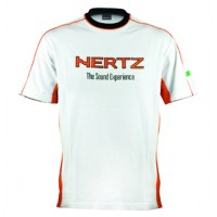 Tričko Hertz White/Orange short sleeve T-Shirt M