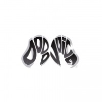 Dodo Juice Logo Vinyl Sticker Small Black and White