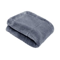Mikrovláknová utierka Purestar Plush Edgeless Premium Buffing Towel Gray